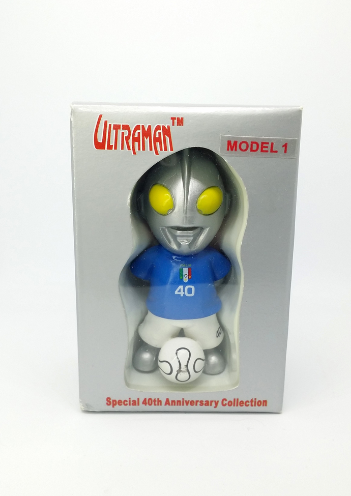 Ultraman 40th Anniversary Collection ITALY Football Team Soccer Figure Ultraman
