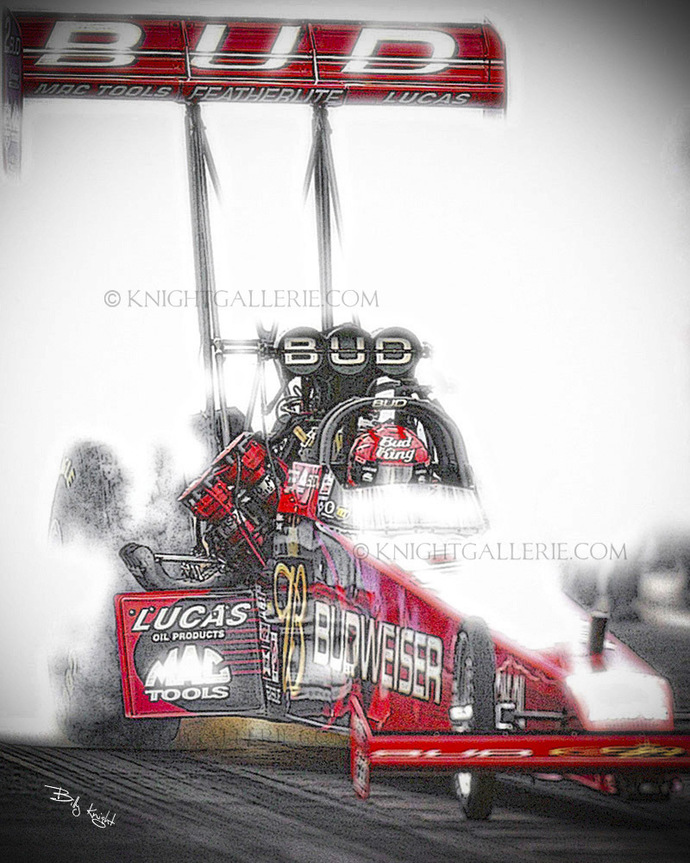To Fuel Dragster: Bud King