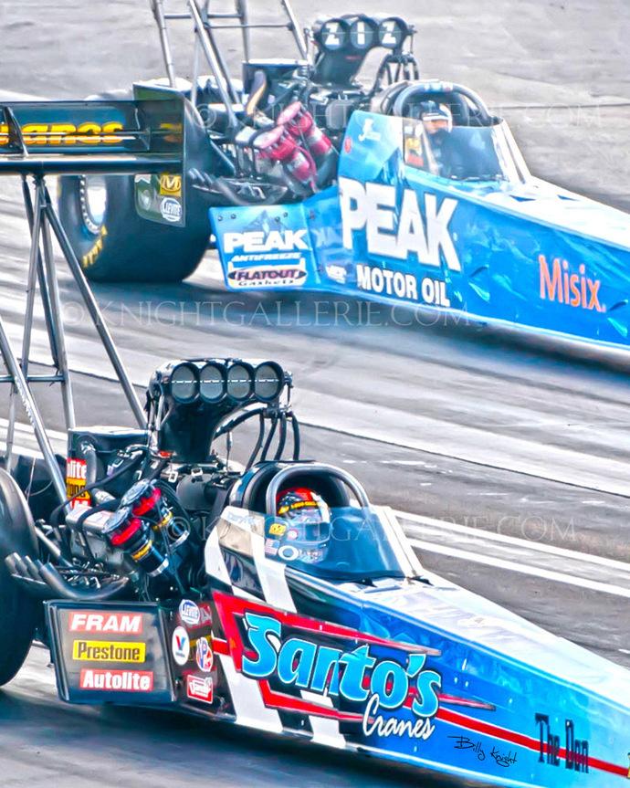 Top Fuel Dragster: Cory Mac vs T.J. Zizzo