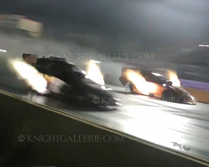 Nitro Funny Car: Night Thunder!