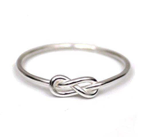 The Love Knot - Sterling Silver Ring