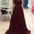 Spaghetti Straps Prom Dresses,Long Prom Dress,Plum Prom Dresses,Simple Cheap