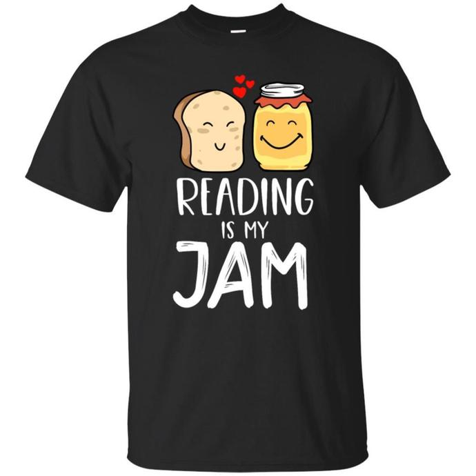 Reading Is My Jam, Bookworms and Book Lovers Men T-shirt, Reading Is My Jam