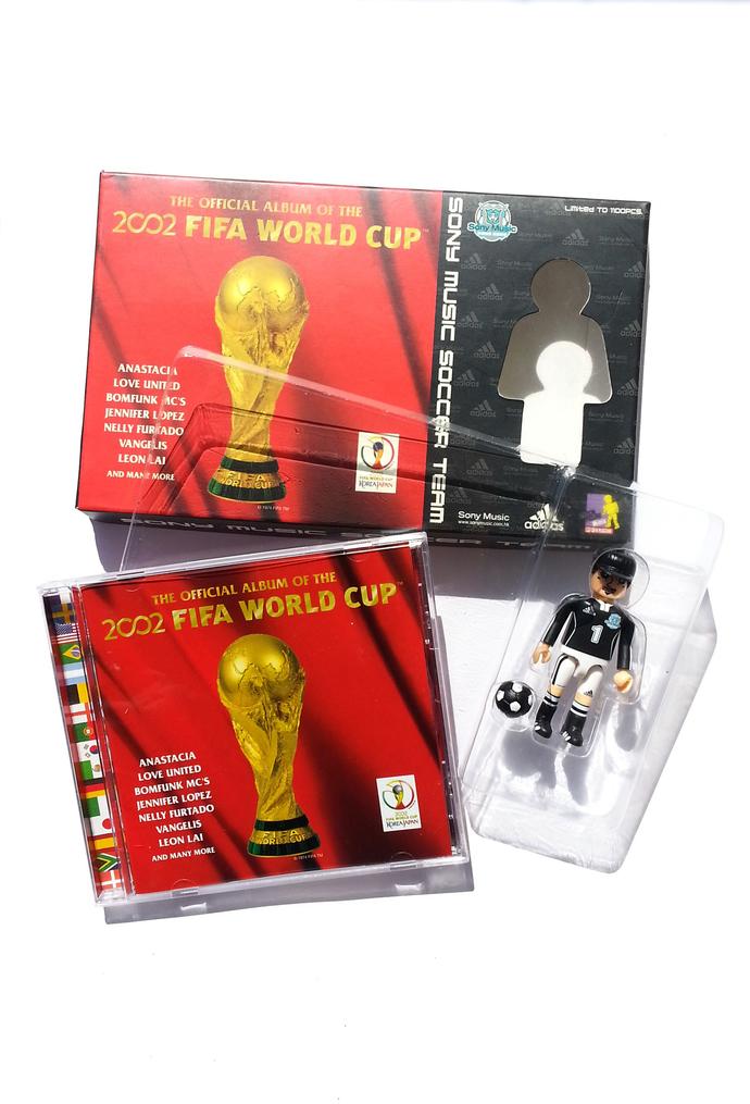 Adidas X Sony Music Collaboration - Fifa World Cup Korea Japan CD Album w/