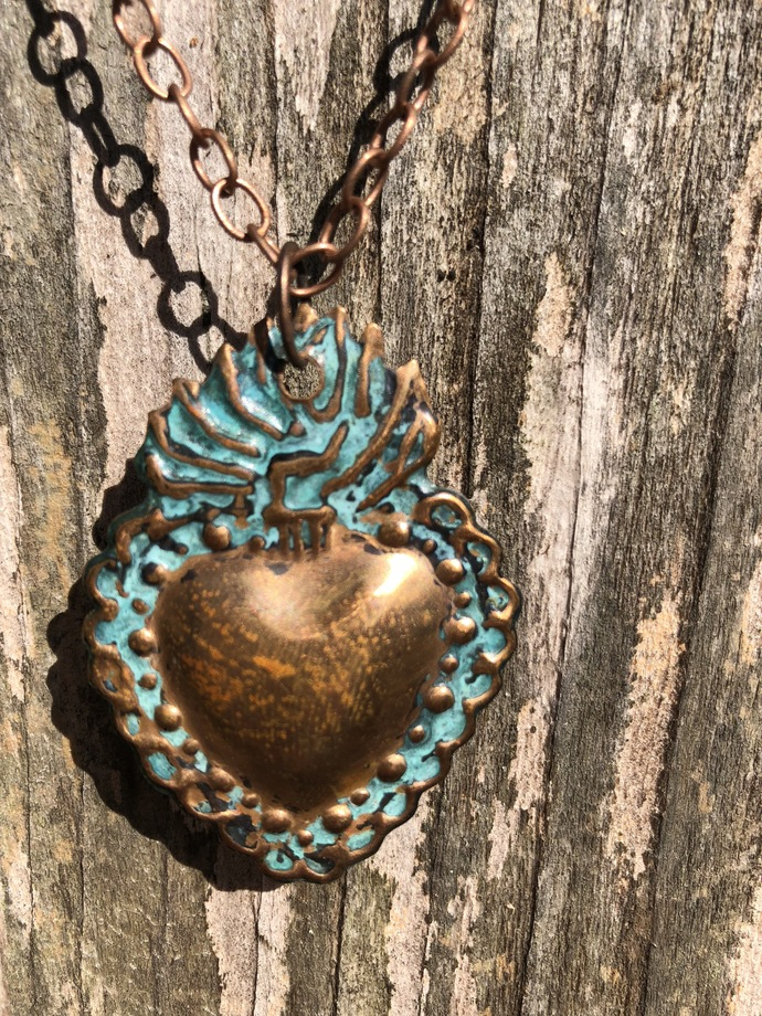 Heart Milagro Necklace