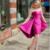 Strapless Fuchsia Party Dress Cocktail Dress,Cheap Homecoming Dress BD2133
