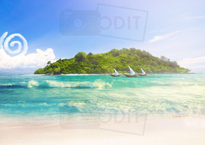 Moana Digital Background. Backdrop, Disney Inspired, Boat, Maui, Te Fiti,