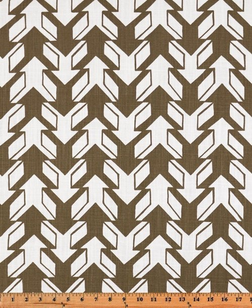 Brown and white in Nano print  fabric. fabric by yard.  Premier Prints. cotton.