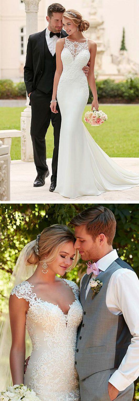 Elegant & Romantic Mermaid wedding Dresses
