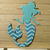 Mermaid Metal Cutting Die Style #3