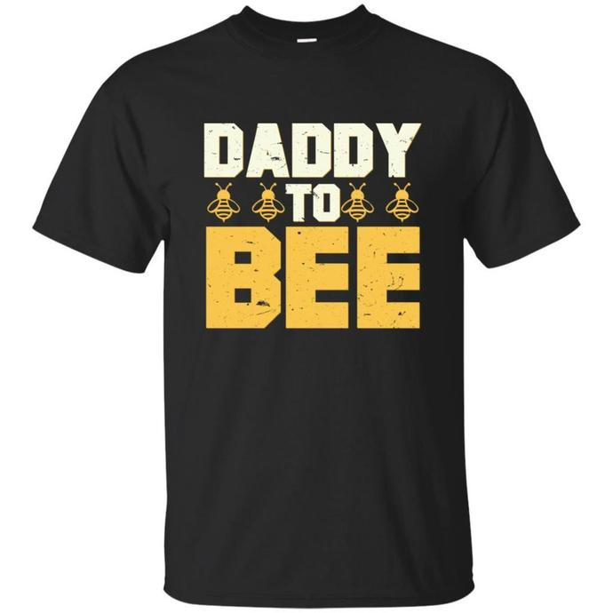 Mens Daddy To Bee New Dad Gifts Men T-shirt, Mens Daddy T-shirt,  Daddy To Bee