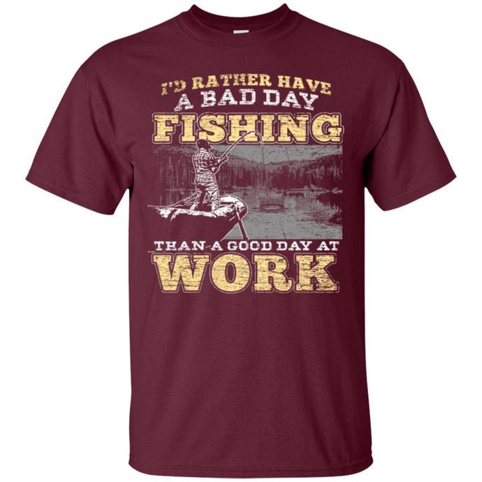 Fishing Rod Hook Fisherman Men T-shirt, Fishing Rod Hook T-shirt, Fishing Rod