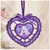 Cutwork Knobby Heart Letter A