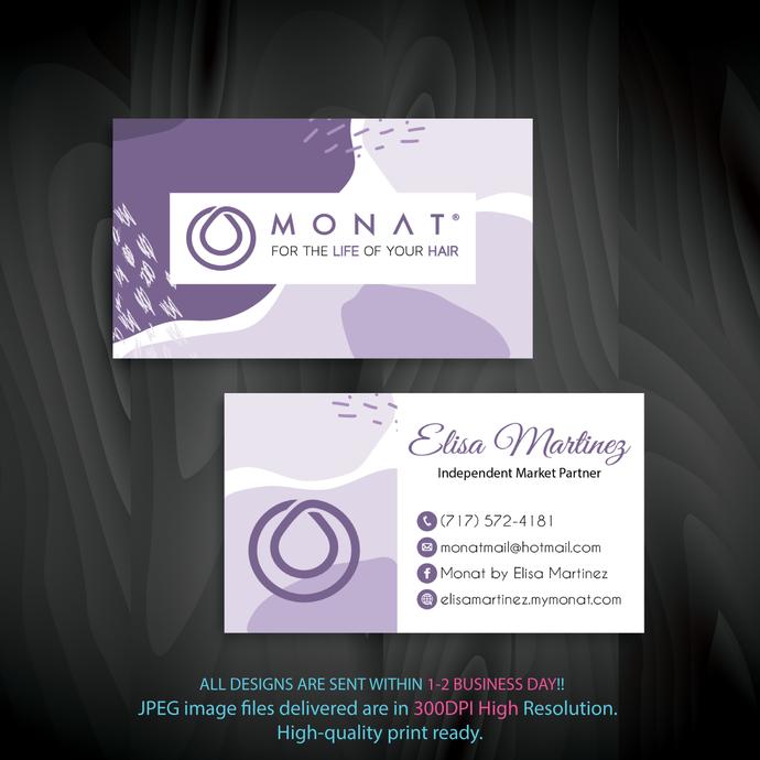 Monat Business Cards, Personalized Monat Business Cards, Custom Monat Business