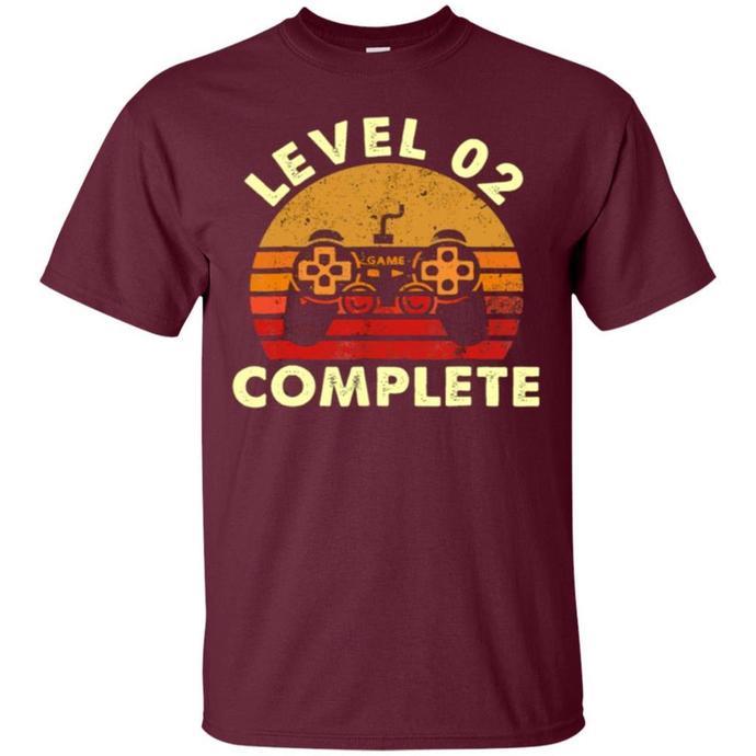 Level 2 Complete Vintage, Celebrate 2nd Men T-shirt, Retro Level 2 Complete Tee,