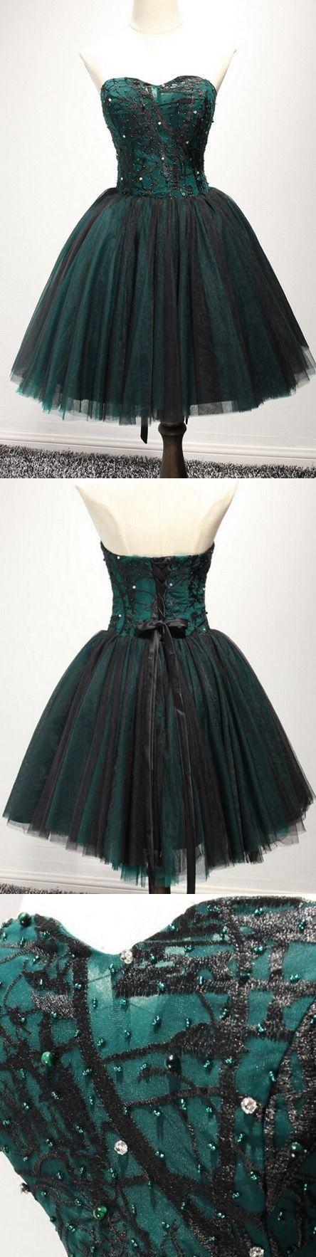 Beaded/Beading Sweetheart Homecoming Dresses BD2160