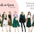 Watercolour fashion illustration clipart - Girls in Green - Light Skin