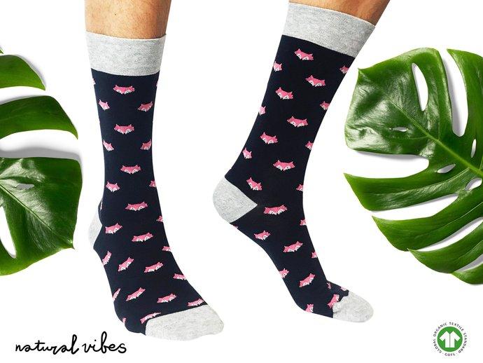 Funny socks    Bio Bunte socken   Organic GOTS Cotton Socks   Chaussette  