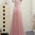 Simple Pink Bridesmaid Dress, Off Shoulder Wedding Party Dresses 2019