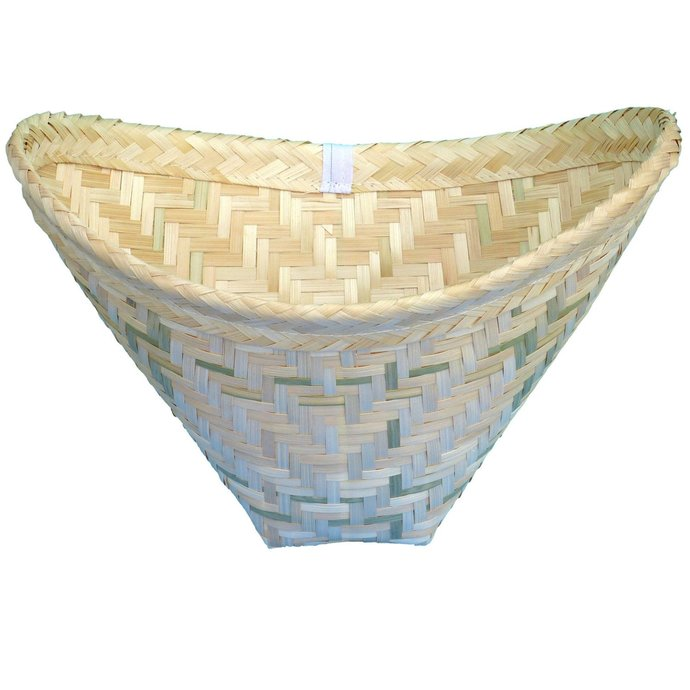 Thai Sticky Rice Cooker Bamboo Steamer Basket Baskets Pack of 2
