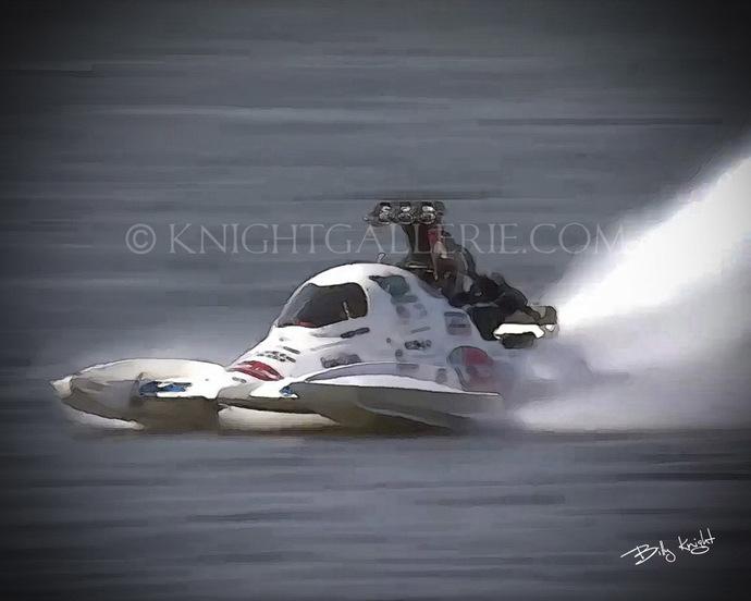 Mixed-Media Art: Drag Boat