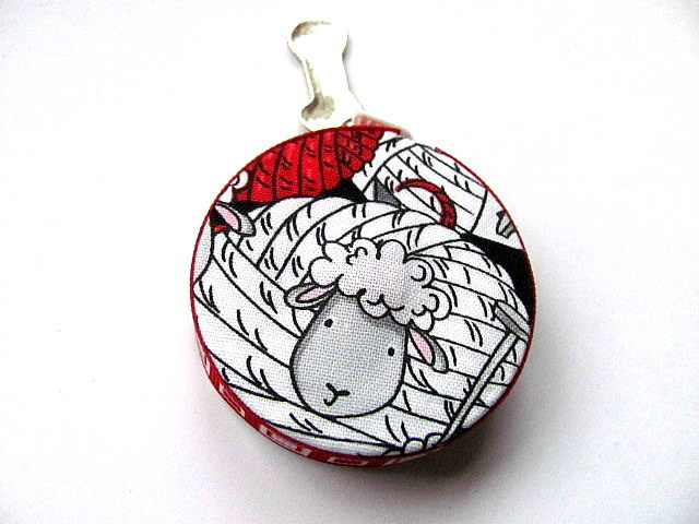 Tape Measure Yarn Ball Sheep Retractable Measuring Tape