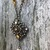 Victorian Style Necklace in Amber