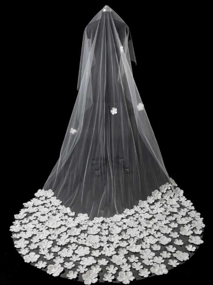 Wedding Veils Bridal Accessories Cathedral Length  BD2166
