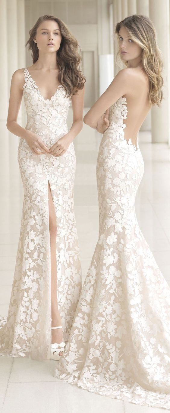 Cheap Simple But Beautiful Wedding Dress
