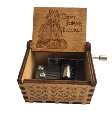 Davy Jones locker music box caribbean music box