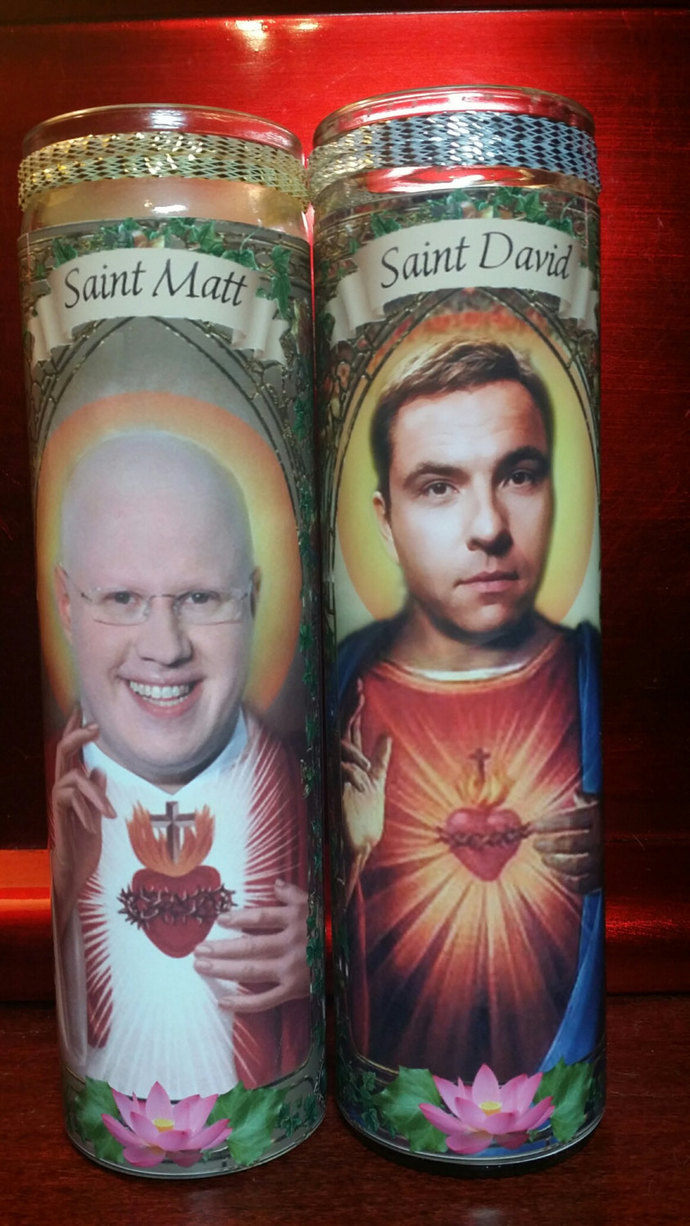 David Walliams  - Britain's Got MORE Talent -  Celebrity Prayer Saint Candle
