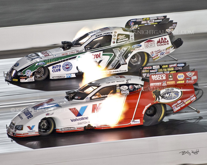 NItro Funny Cars: Side by Side!