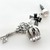 Crown and key charm, planner charm, phone dust plug charm, iPhone charm,