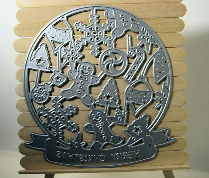 Christmas Globe Shaped Metal Cutting Die