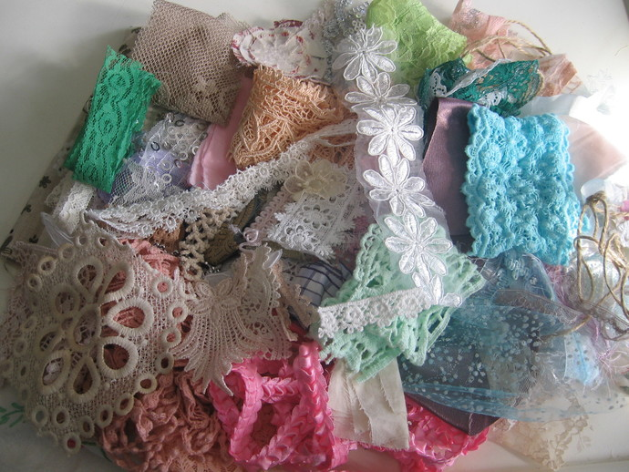 """Gypsy"" Lace and Snippet Grab Bag #5"