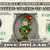 ELF Christmas on a REAL Dollar Bill Cash Money Collectible Memorabilia Celebrity