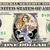 DAZZLER on a REAL Dollar Bill Marvel Cash Money Collectible Memorabilia