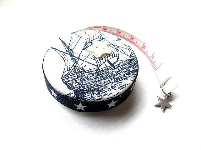 Tape Measure Sail Boats Ships  Retractable Measuring Tape