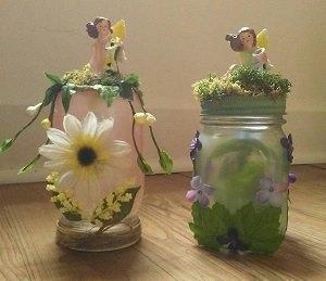 Fairy Luminary/ Decorative Jar