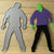 Frankenstein or Walking Dead Guy Cutting Die Halloween Die Cuts