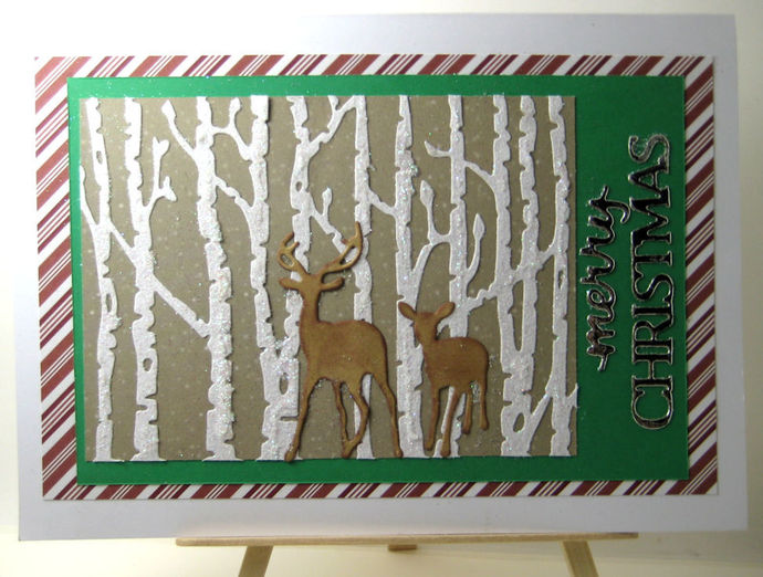 NEW Style #2 Woods Tree Square Cutting Die Frame