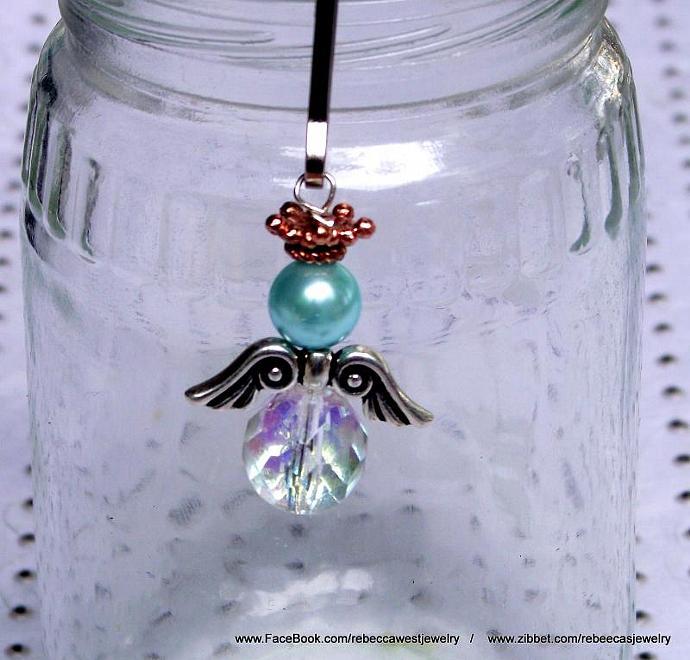 Angel  Zipperpull / Charm / Pendant