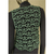 Knitted Lace Waistcoat Crochet Vest grey green deep neck Good gift Classy top