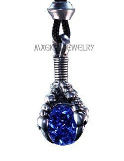 Dark Blue - Magical Dragon Claw Pendant - Hand Cast in High Quality American