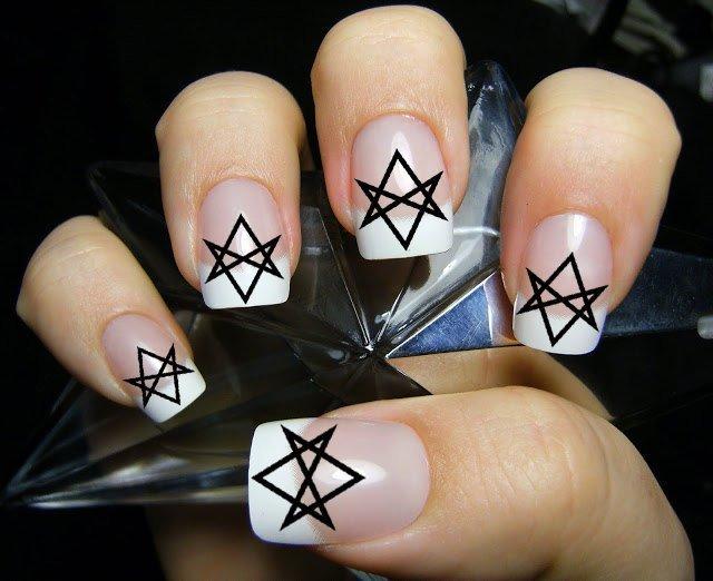 SUPERNATURAL 36 UNICURSAL HEXAGRAMS Nail Art (hxb) Aleister Crowley Waterslide