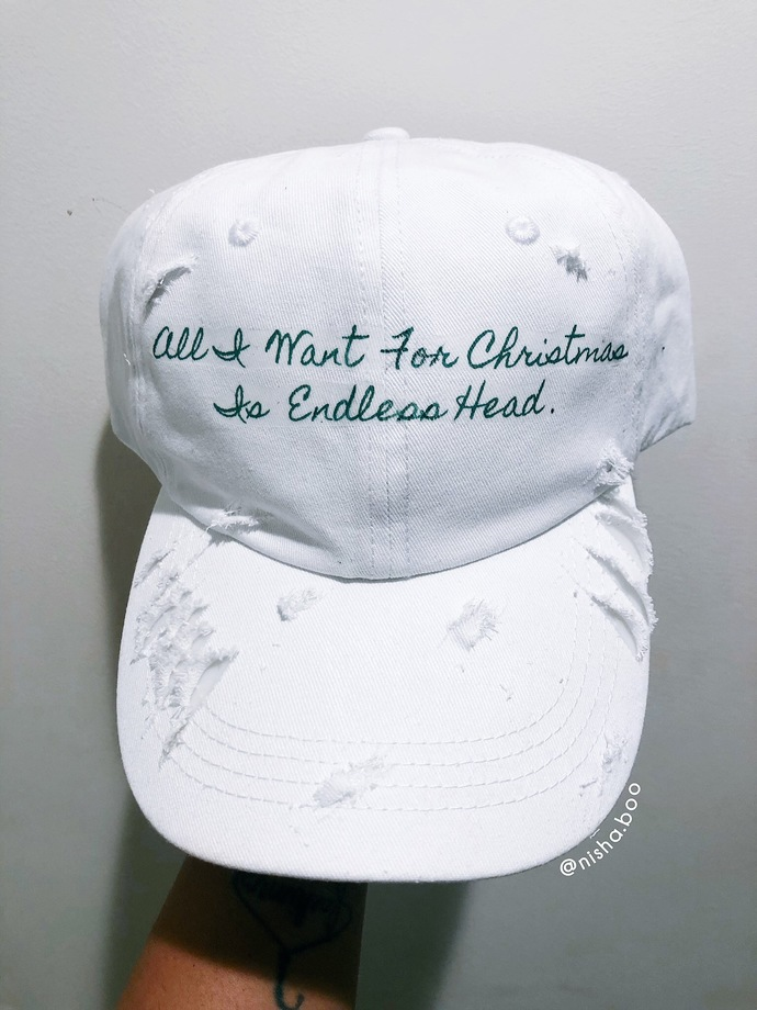 All I Want For Christmas Baseball Cap
