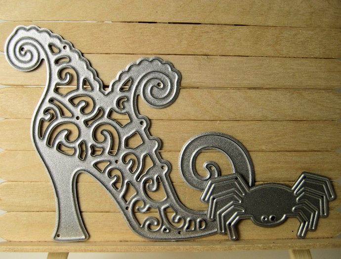 Witch Shoe & Spider Cutting Die