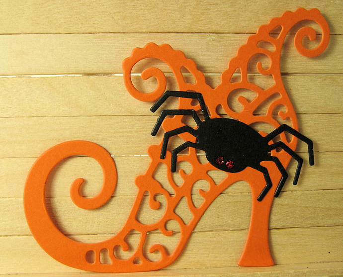 Witch Shoe & Spider Cutting Die