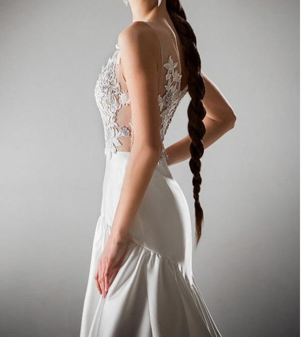A-line Prom Dress With Beadings & Lace Appliques Dresses