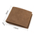 Leather Wallet For Men - Perfect Gifts For My Grandson - Engraved Leather Wallet